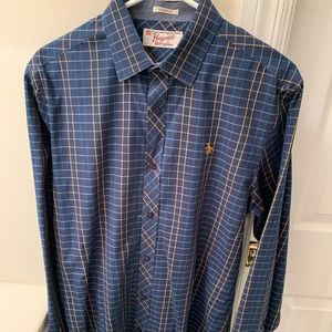 Penguin Classic Fit Striped Button Down